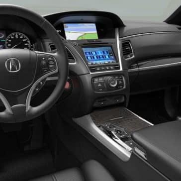 2018 Acura RLX dashboard