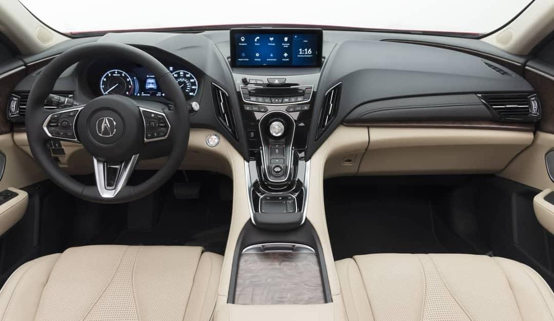 2019 Acura RDX dashboard interior