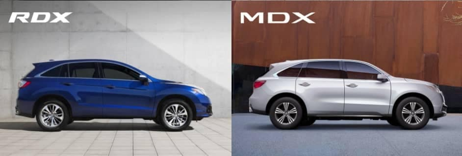 Acura RDX and MDX SUVs