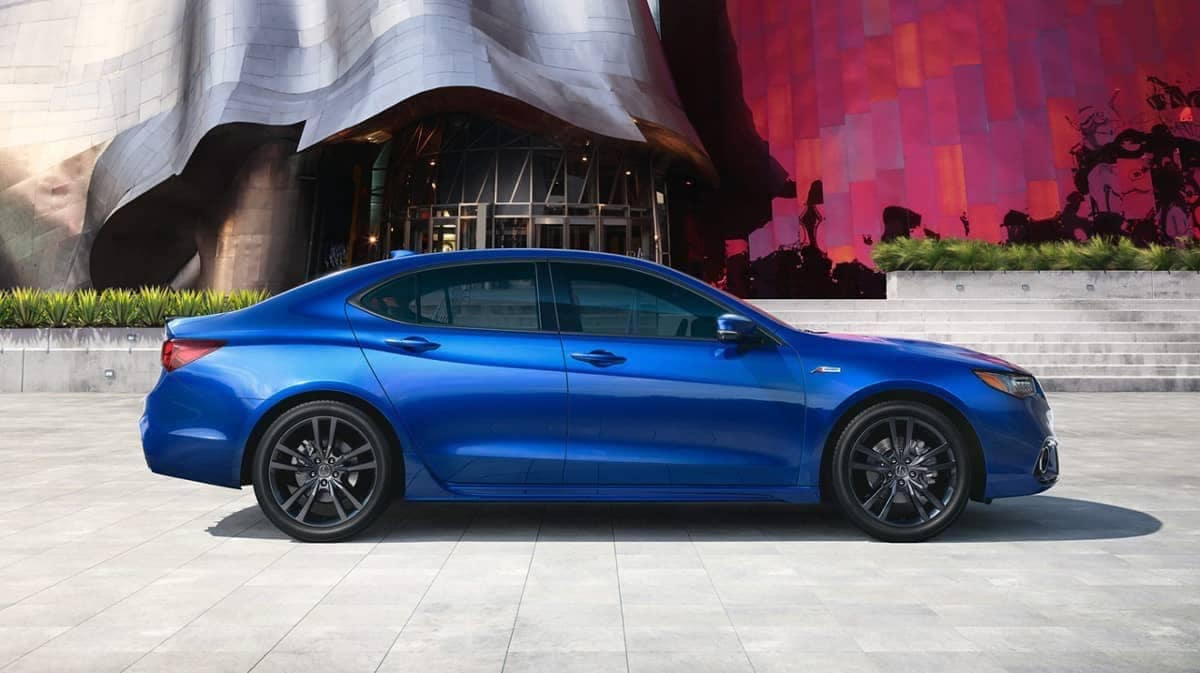 2019 Acura TLX A-Spec in Night Blue