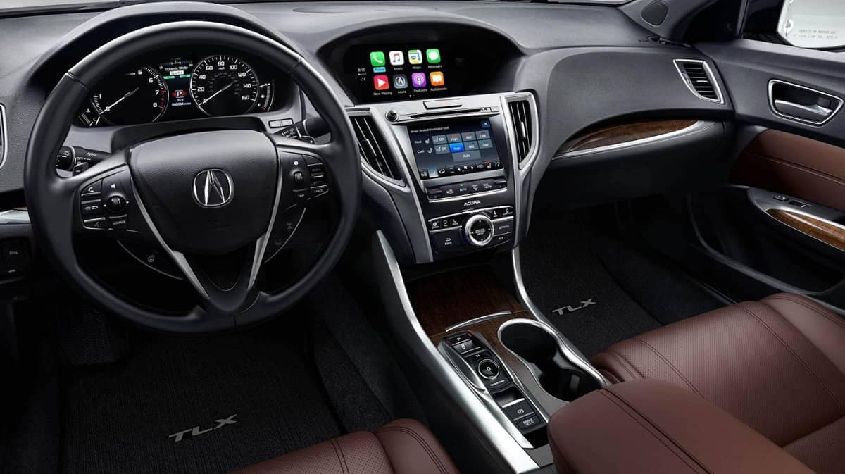 Dashboard of 2019 Acura TLX