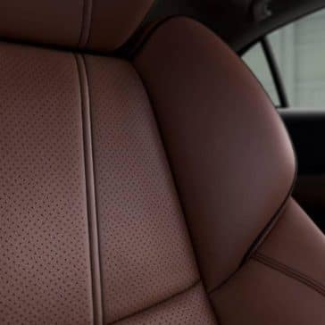 closeup of Milano leather seat in 2019 Acura TLX