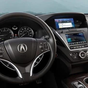 2019 Acura MDX interior dashboard