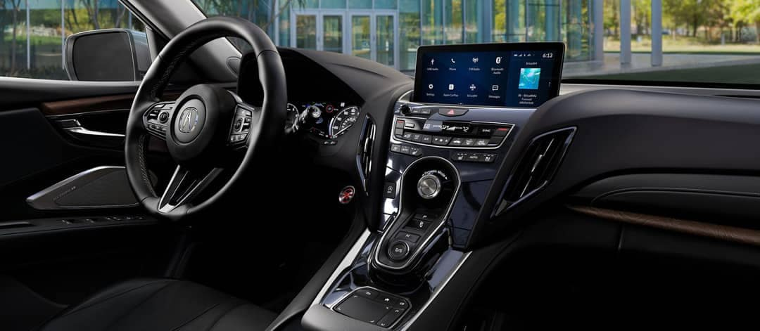 Acura RDX dashboard