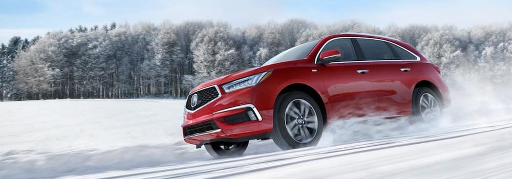 Acura MDX with SH-AWD