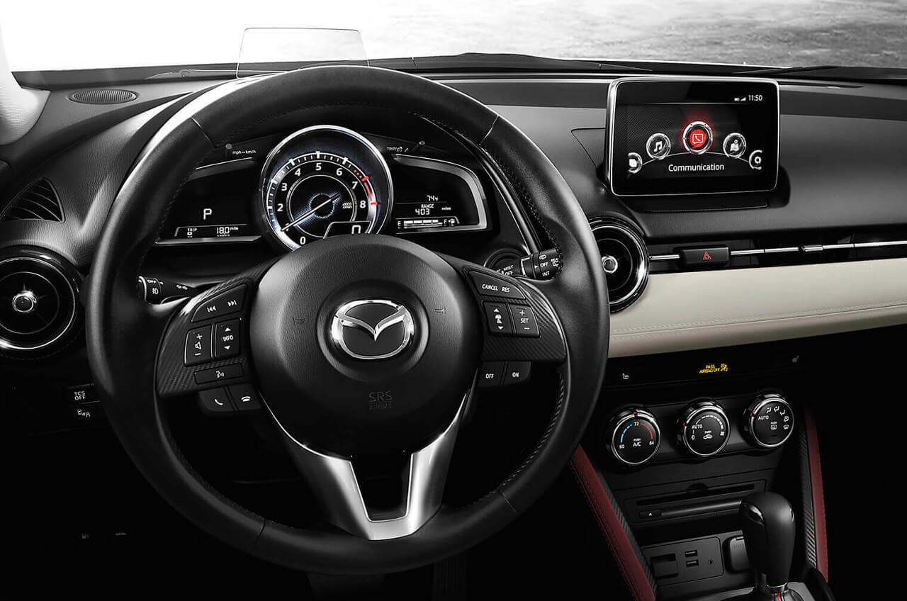 2017 Mazda CX-3 dashboard | Continental Mazda of Naperville