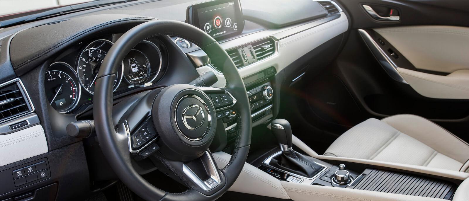 2017 Mazda6 interior banner