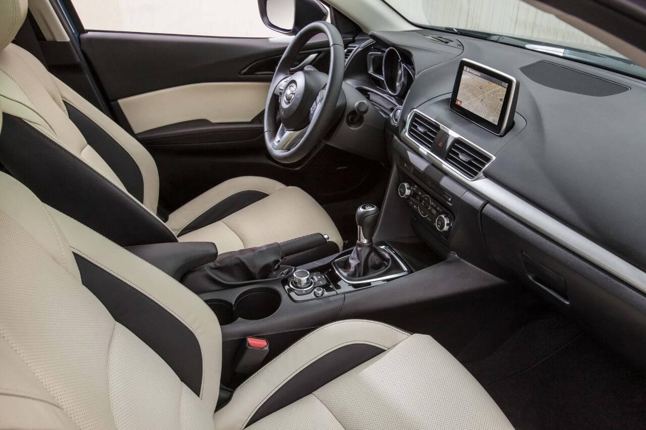 2017 Mazda3 Sedan Interior Cabin