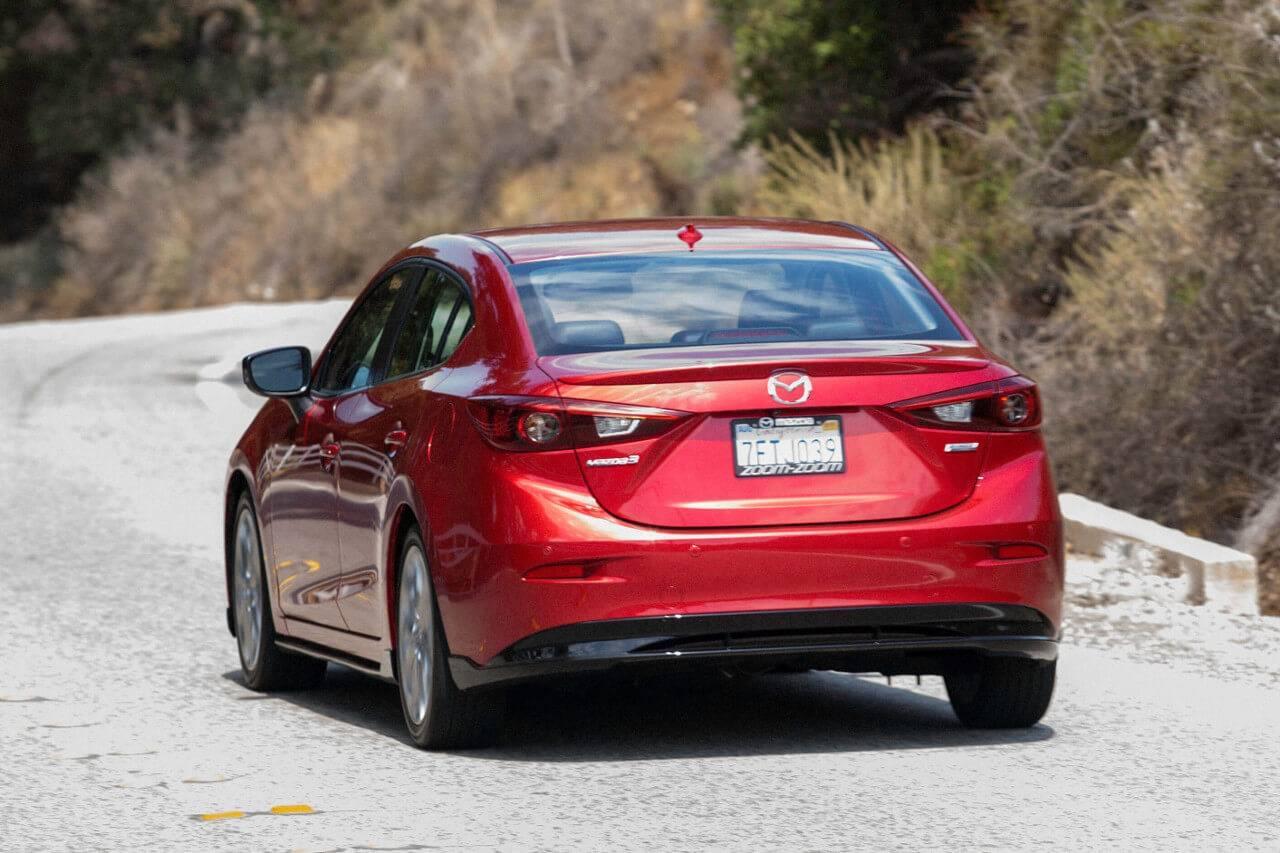 2017 Mazda3 Sedan Rear Exterior