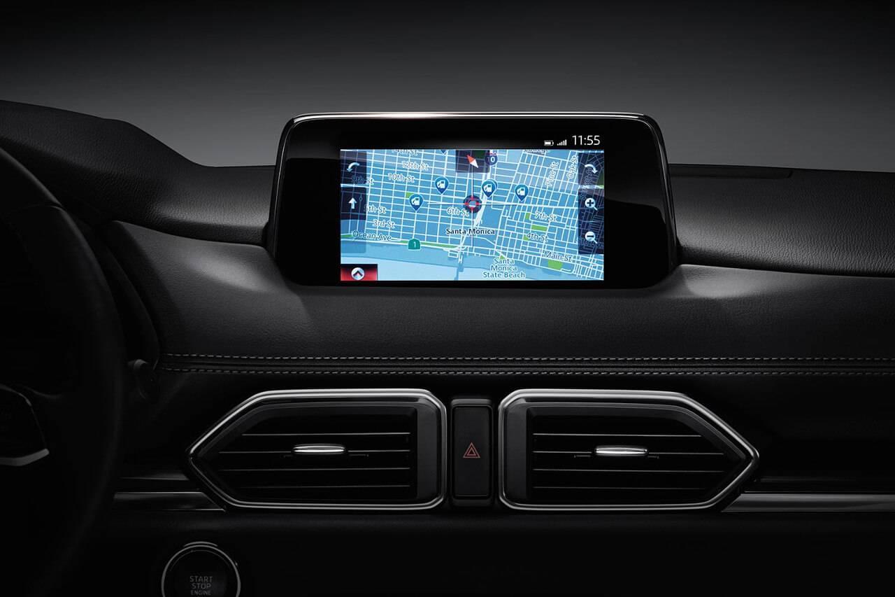 2017 Mazda CX-5 infotainment screen