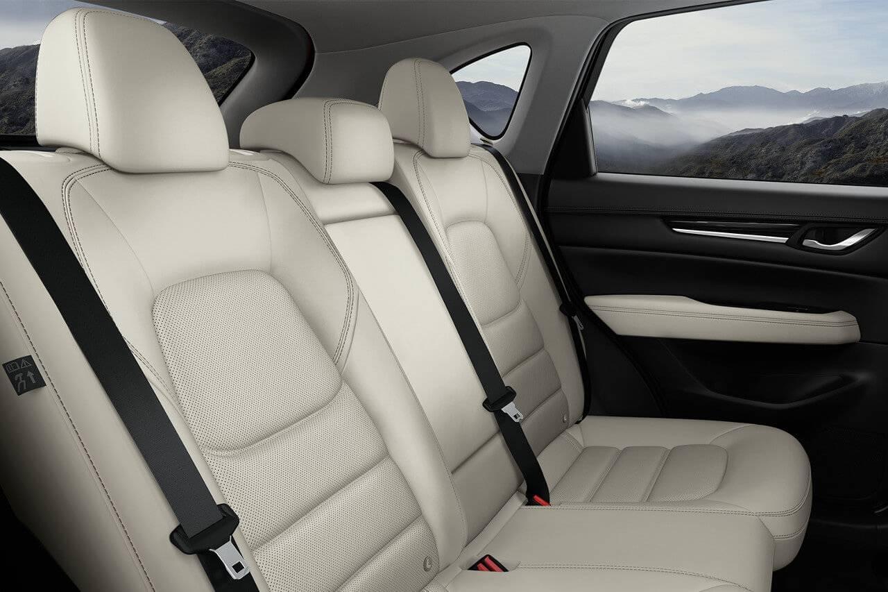 2017 Mazda CX-5 leather passenger seats