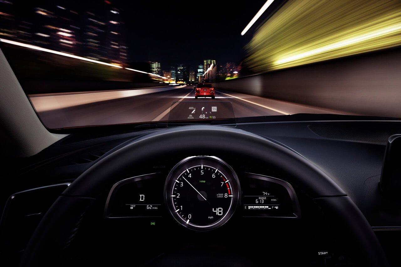 2017 Mazda3 active driving display