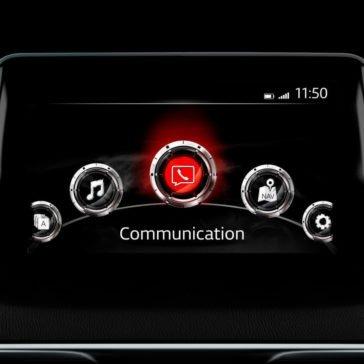 2017 Mazda3 infotainment