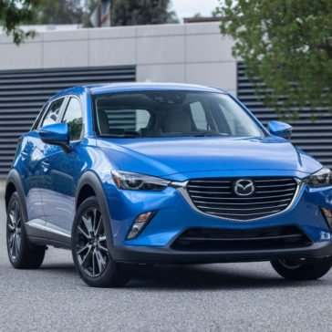 2017 Mazda CX-3 in Dynamic Blue
