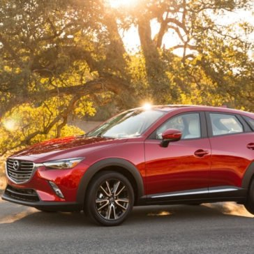 2017 Mazda CX-3 in Soul Red