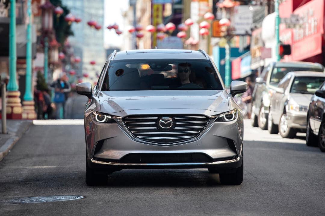 2018 Mazda CX-9 front end exterior