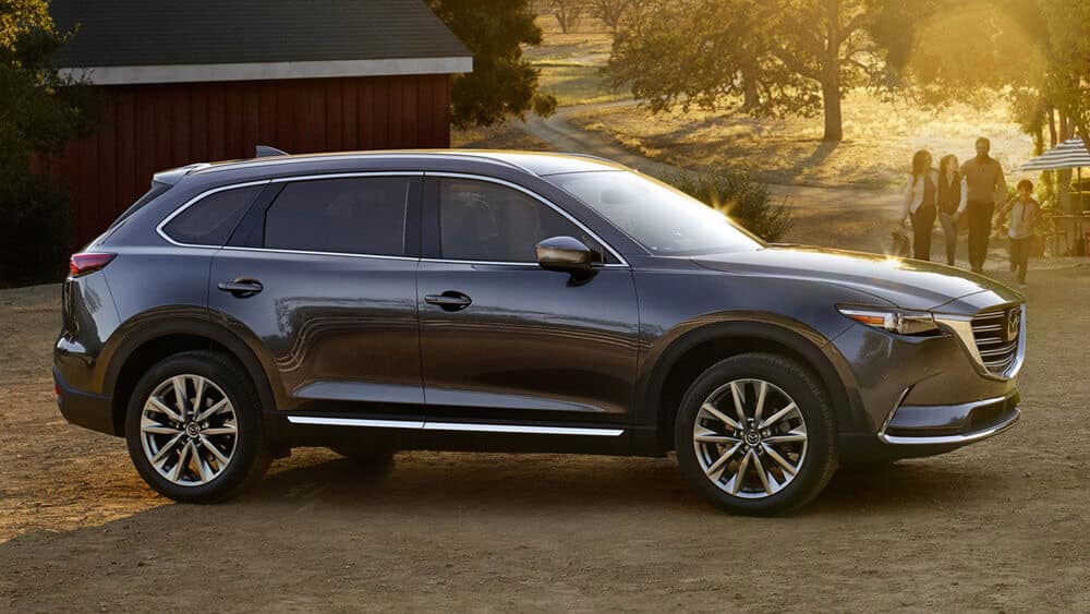 2018 Mazda CX-9 side profile
