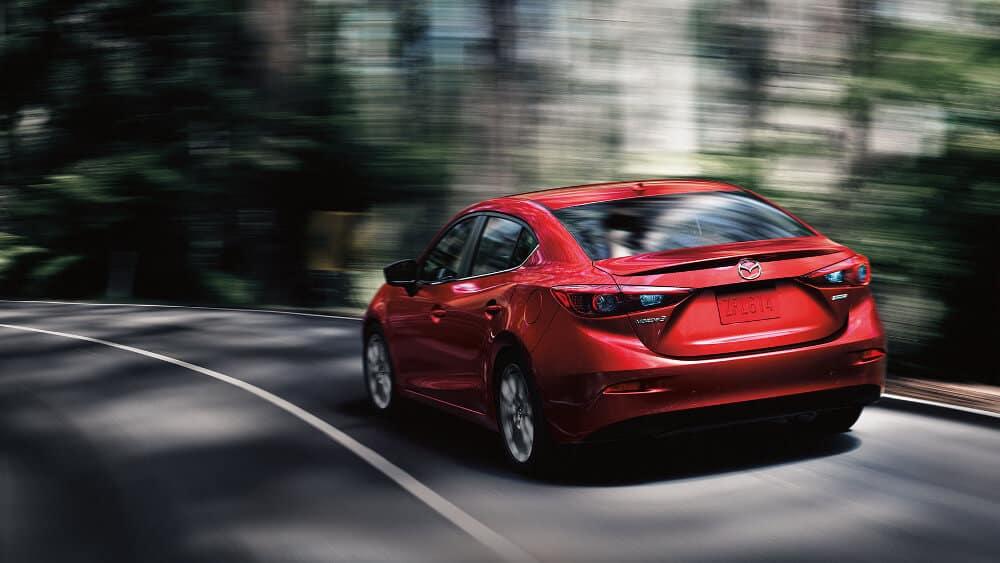 2018 Mazda3 Sedan back