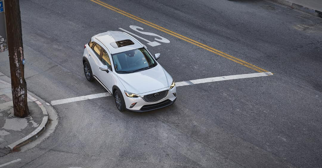 2018 Mazda CX-3 exterior aerial view