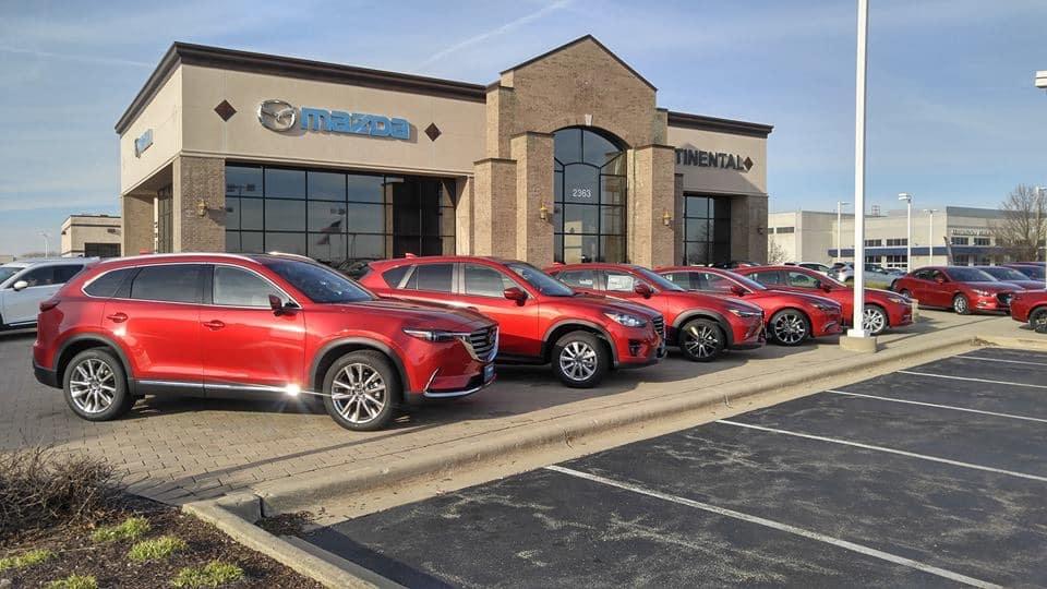 Continental Mazda Exterior View