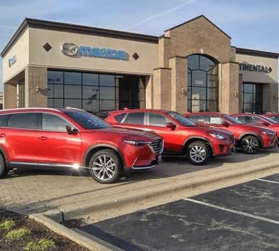 Continental Mazda exterior