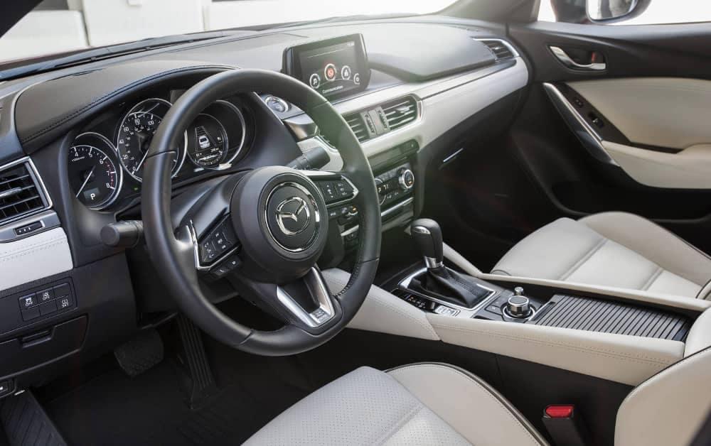 2017.5 MAZDA6 interior cabin