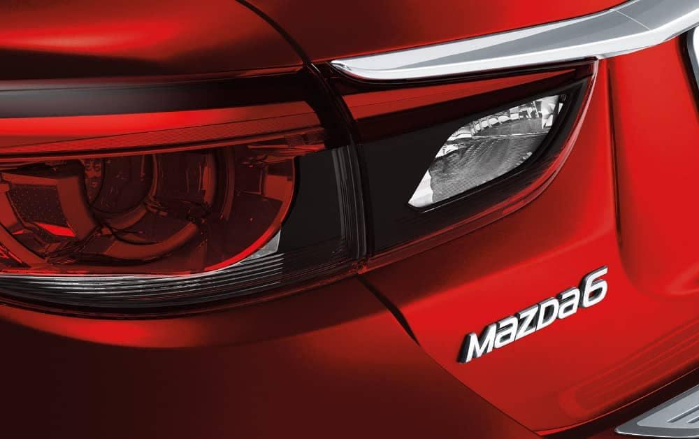 2017.5 Mazda6 Sport taillight