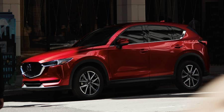 2018 Mazda CX-5 SUV parked