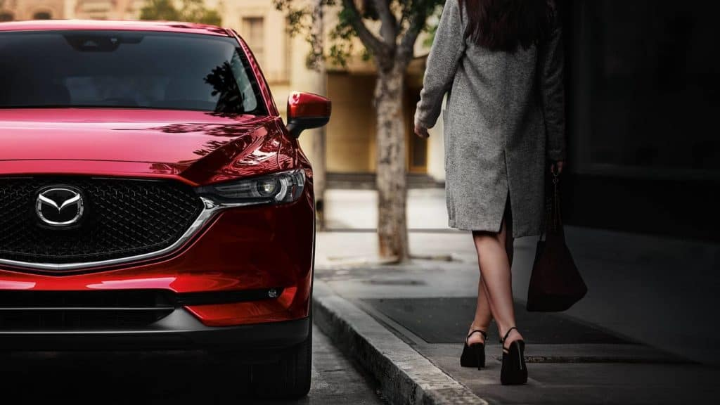 2018 Mazda CX-5 front grille