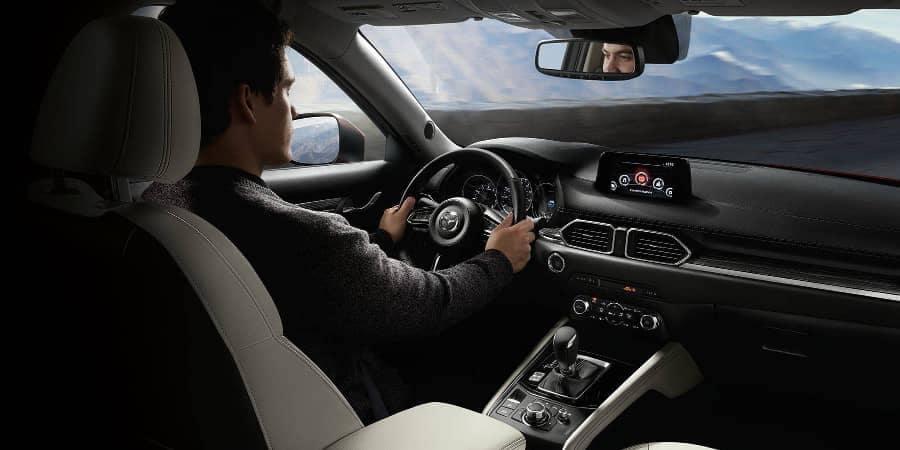 Driver in 2018 Mazda CX-5