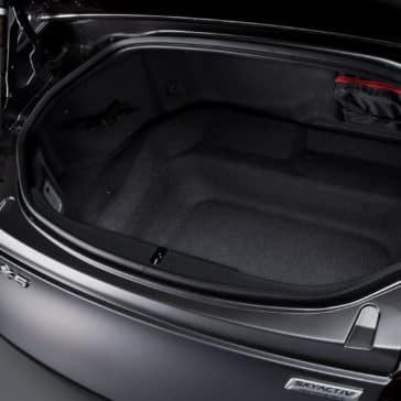 2017 Mazda Miata MX-5 RF cargo space