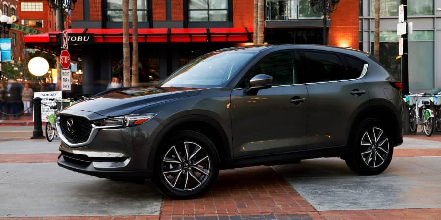 2018 Mazda CX-5 Touring near Stop Sign