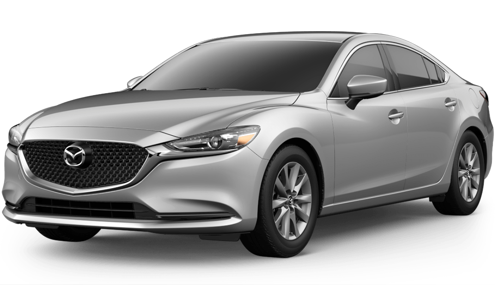 2018 Mazda6 Sport in silver