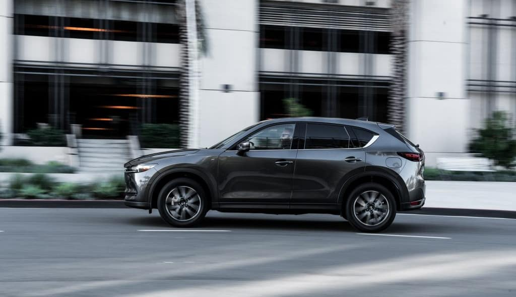 2017 Mazda CX-5 on road