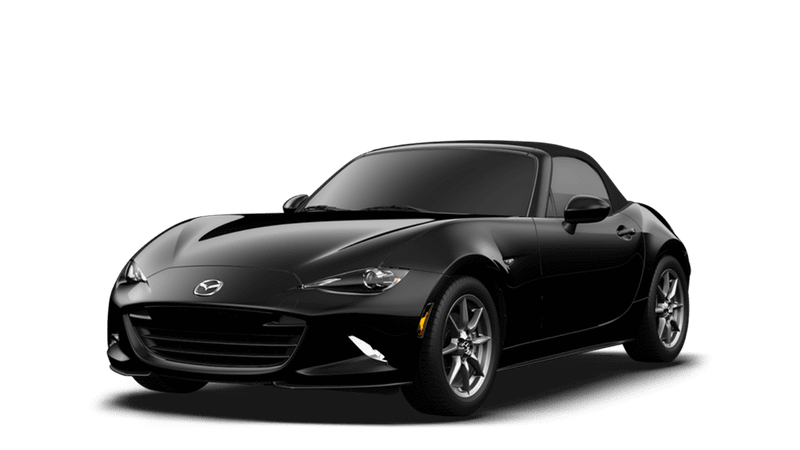2018 Mazda MX-5 Miata white background