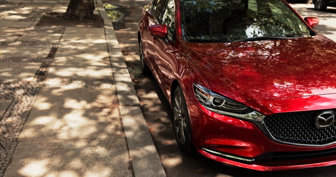 2018 Mazda6 parked at curb
