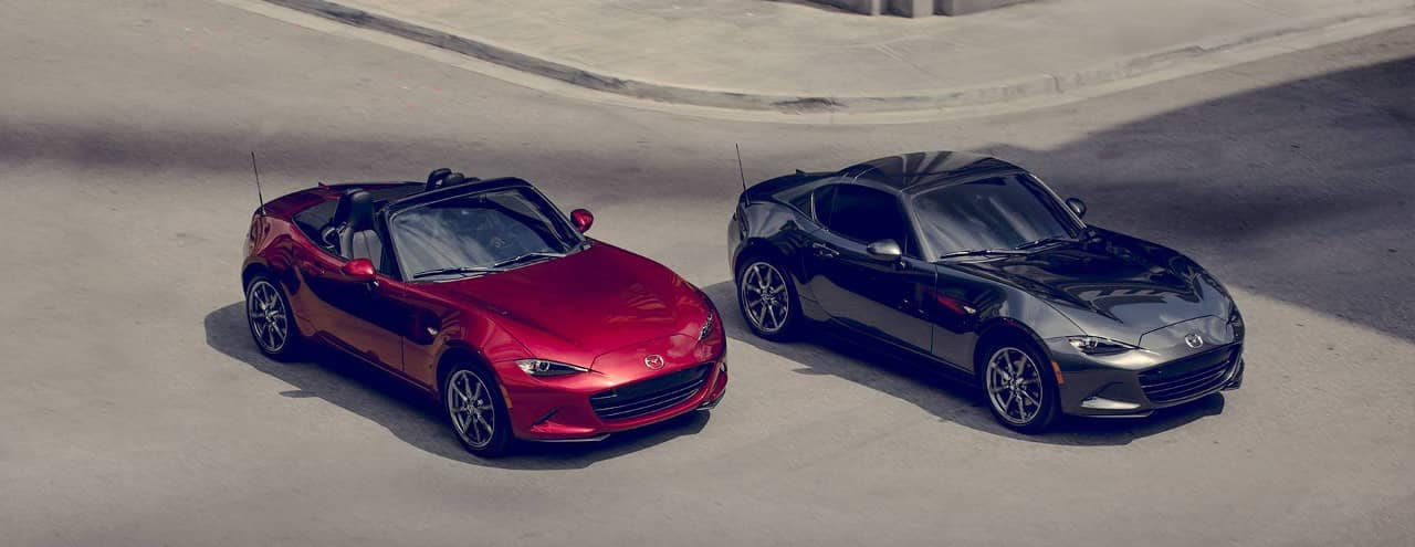 2019 Mazda MX-5 Miata and Miate RF
