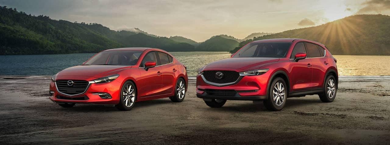 Mazda SUV and Sedan