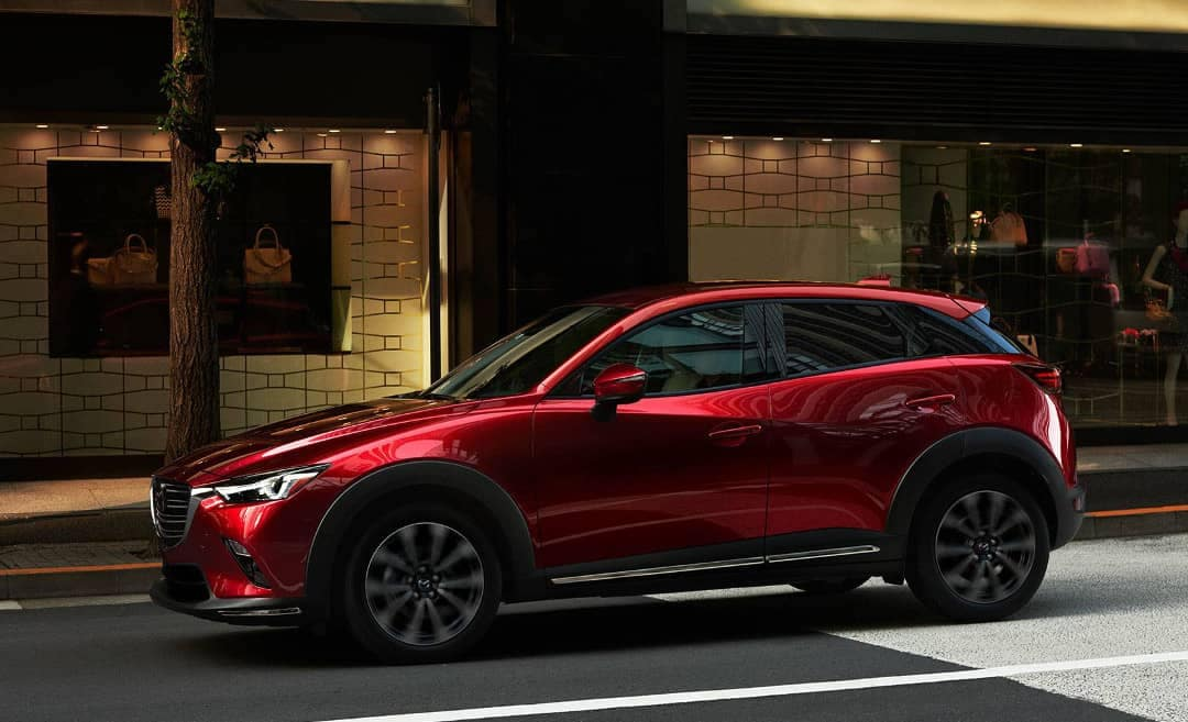 2019 Mazda CX-3 on road