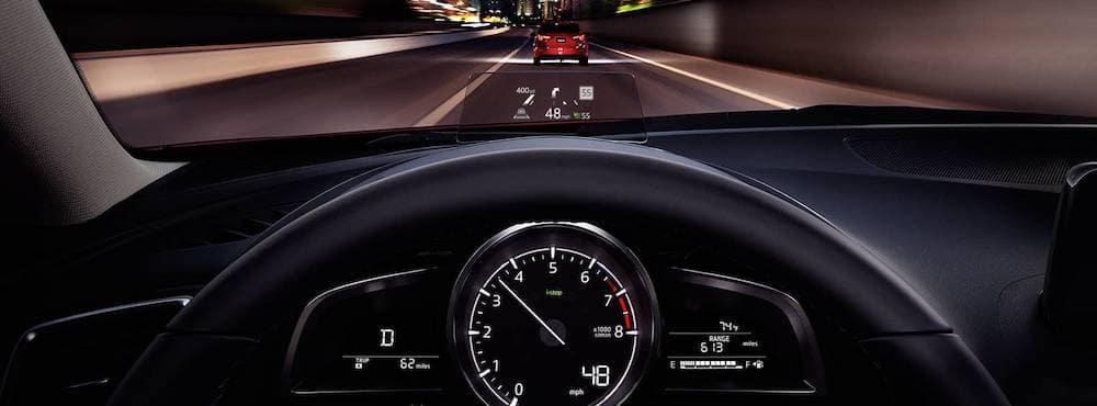 2018 Mazda3 Sedan dashboard