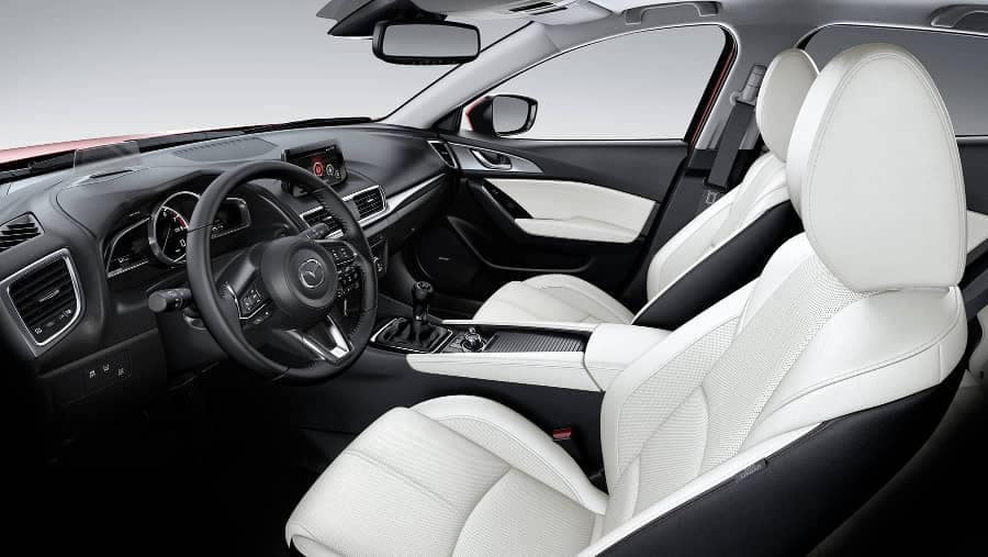 2018 Mazda3 Sedan interior