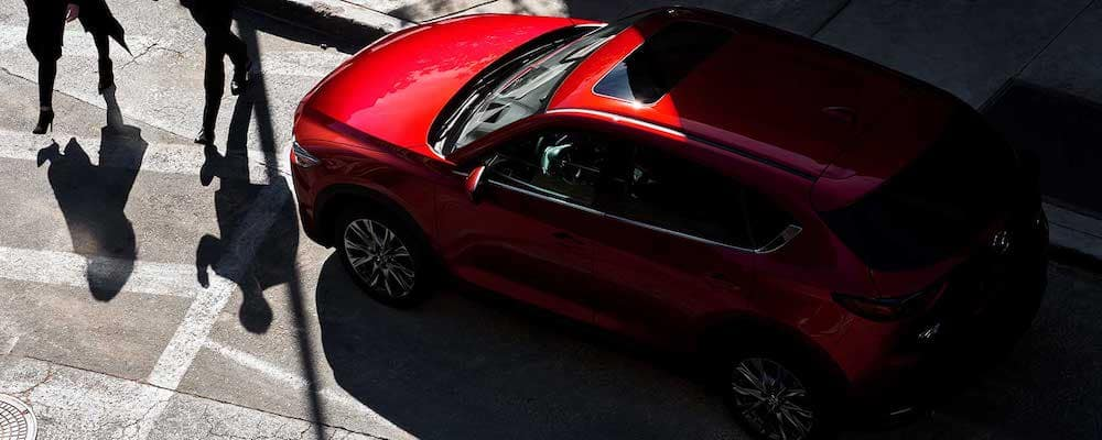 2019 Mazda CX-5 on the road