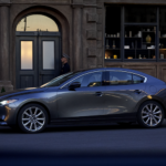 2019 Mazda3 sedan in profile