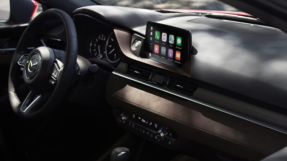 2019 Mazda6 infotainment system