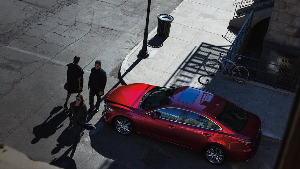 2019 Mazda6 on a city street