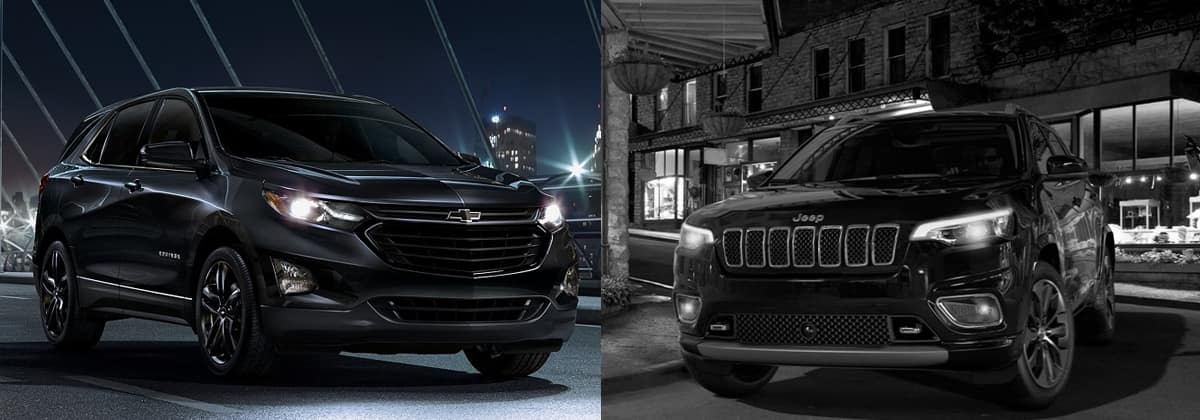 Covert Country of Hutto - Comparing the 2020 Chevrolet Equinox vs 2020 Jeep Cherokee near Georgetown TX