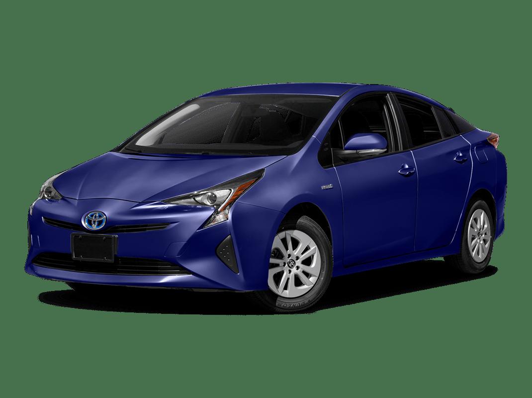 Toyota Prius- blue crush metallic - 2018 Toyota Prius One