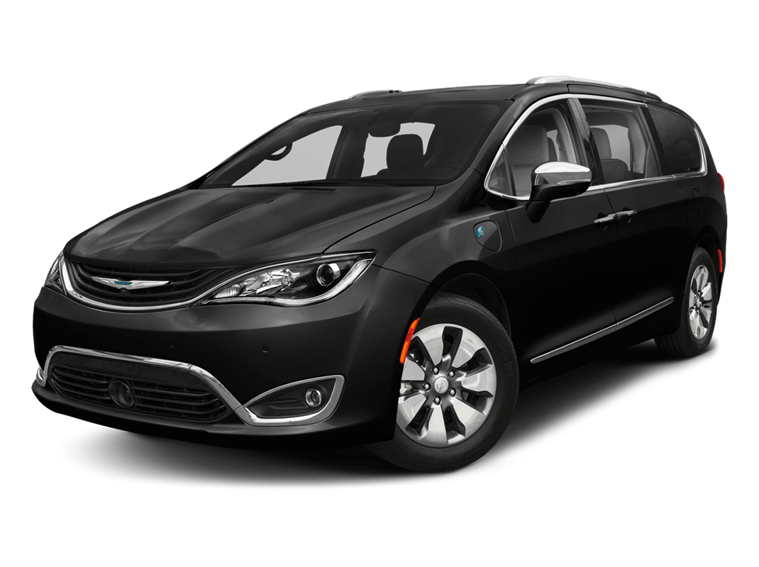 Chrysler Pacifica- brilliant black crystal pearlcoat - 2018 Chrysler Pacifica Hybrid