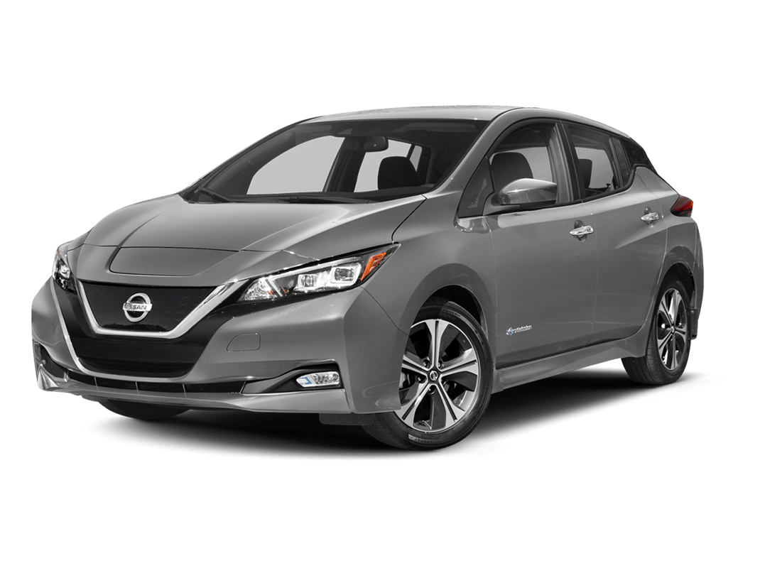 Nissan Leaf- brilliant silver - 2018 Nissan Leaf
