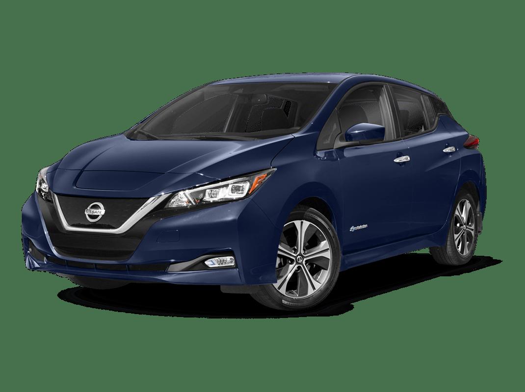 Nissan Leaf- deep blue pearl - 2018 Nissan Leaf